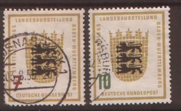 West Germany 1955 Agricultural Exhibition  SG 1138/39 fin...