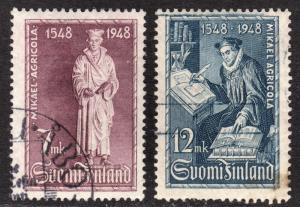 Finland Scott 276-277  complete set  F to VF used.
