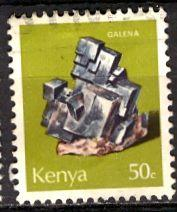 Kenya; 1977: Sc. # 102: O/Used CTO Single Stamp