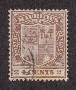 Mauritius Scott #167 Used