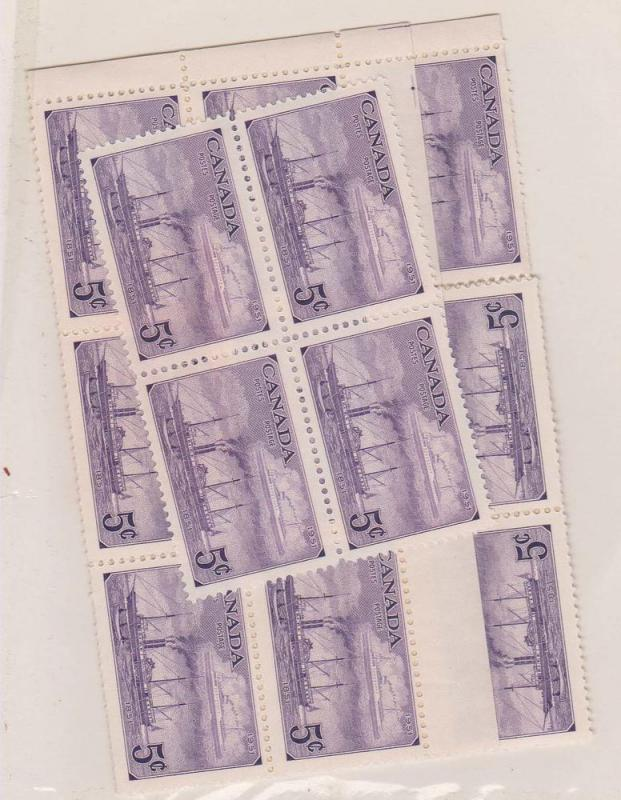 Canada -#312 - 1951 5c Steamships of 1851 and 1951 X 50 mint