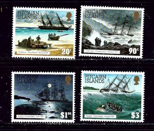 Pitcairn Is 403-06 MNH 1994 Shipwrecks