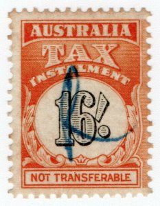 (I.B) Australia Revenue : Tax Instalment 16/-