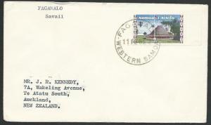 SAMOA 1965 cover to NZ - FAGAMALO cds......................................13191