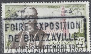 French Equatorial Africa Scott #C36 – USED