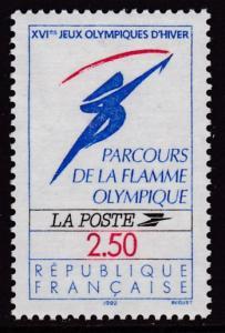 France 1991 Scott 2269 Winter Olympics, Albertville VF/NH