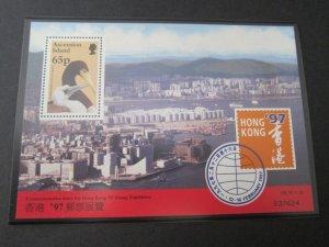 Ascension 1997 Sc 652a bird set MNH