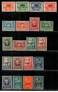 Azores #238-257  Mint  Scott $25.80