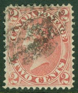 EDW1949SELL : CANADA 1864 Scott #20 Extra Fine, Used. A Gem. Catalog $300.00.