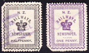 New Zealand railways stamps #2