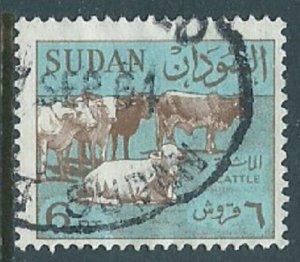 Sudan, Sc #154, 6pi Used