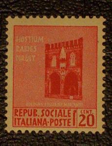 Italian Socialist Republic Scott #18 mnh