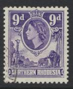 Northern Rhodesia  SG 69 SC# 69 Used - see details