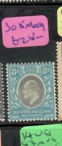 EAST AFRICA & UGANDA (P1405B) KE  8A  SG 8   MOG