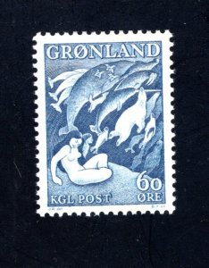 Greenland 43,   VF, Mint NH, Post Office Fresh,  CV $ 4.00 ... 2510175