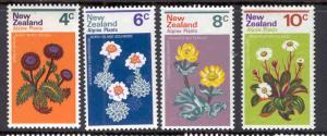 NEW ZEALAND 500-503 MNH ALPINE PLANTS