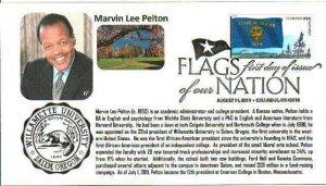 6° Cachets 4316 FOON Oregon Marvin Lee Pelton Williamette University