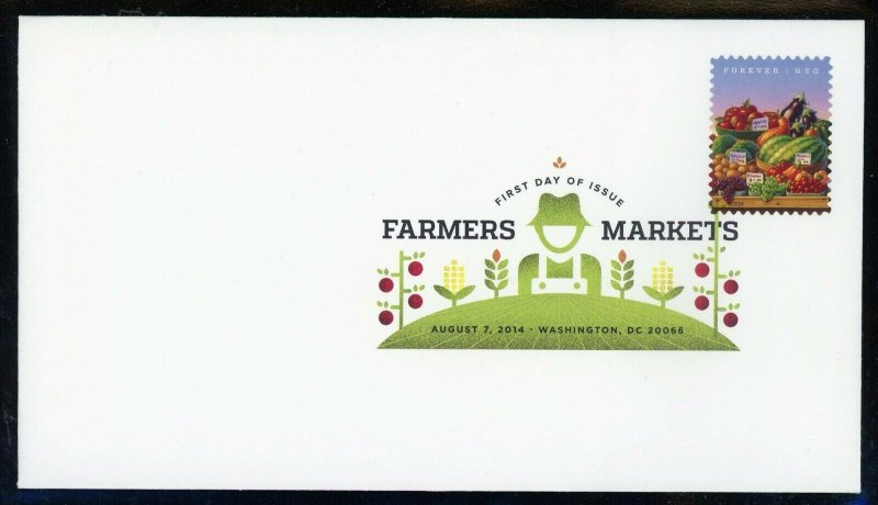 Scott 4912-4915 Farmers Market Set of 4 DCP Cancel First Day Covers