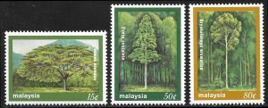 Malaysia # 230 - 32 Mint Never Hinged