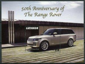 Grenada Cars Stamps 2021 MNH Land Range Rover 50th Anniv 1v S/S