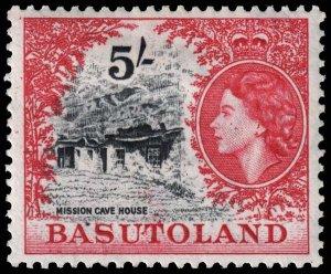 Basutoland - Scott 55 - Mint-Hinged - Ink Flecks on Front