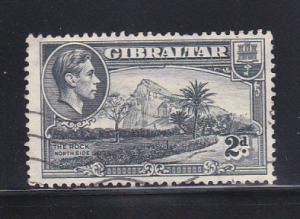 Gibraltar 110d U Rock Of Gibraltar (B)