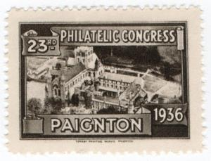 (I.B) Cinderella : 23rd Philatelic Congress (Paignton 1936)