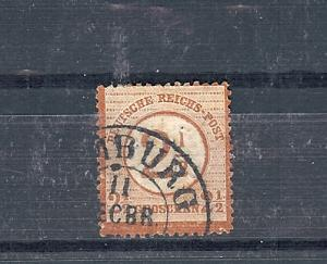 Germany, 27, Brown Surcharge Single, Used