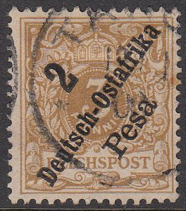 German East Africa 6a Used (see Details) CV $45.00