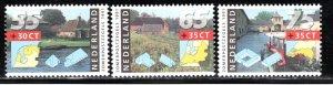 Netherlands Scott # B656 - B658, mint nh