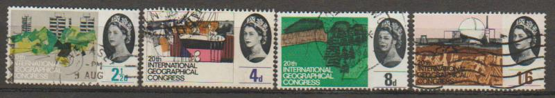 Great Britain SG 651 - 654 set Used