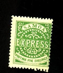 Samoa #8a MINT Fine OG HR Cat $725