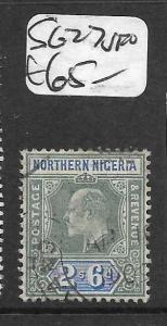 NORTHERN NIGERIA (P1309B) KE 2/6  SG 27  VFU