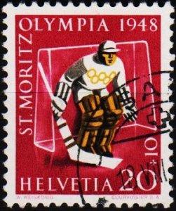 Switzerland. 1948 20c+10c S.G.483 Fine Used