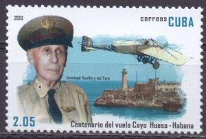 Cuba. 2013. Aviation. MNH.