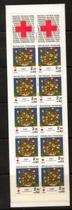 FRANCE SG2649 1984 RED CROSS FUND BOOKLET MNH