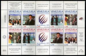 Venezuela 1582 MNH Summit Latin America Chiefs  x1448