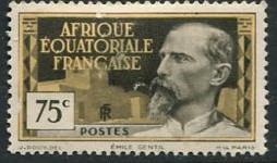 French Eq Africa #53 Mint (thin)