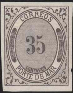 MEXICO  An old forgery of a classic stamp..................................69013