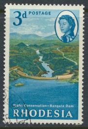 Rhodesia   SG 354  SC# 203   Used Water Conservation see details