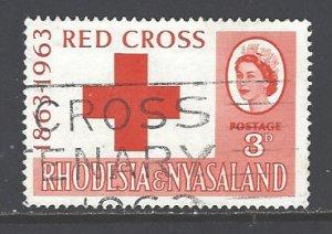 Rhodesia & Nyasaland Sc # 188 used (RS)