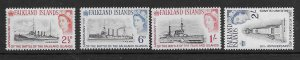 Falklands 150-53  1964  NH