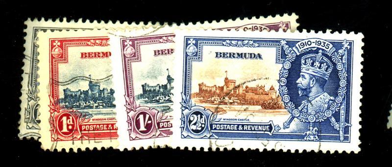 Bermuda #100-3 Used VF Cat$31
