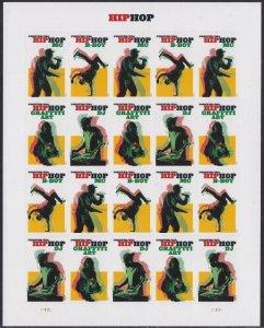 US 5480-5483 5483a Hip Hop forever sheet (20 stamps) MNH 2020