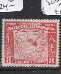 North Borneo SG 308 MOG (2dkh)