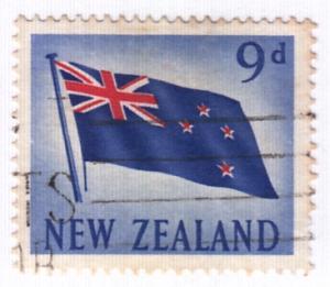 New Zealand, Scott #342 (1), Used