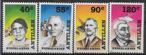 1989 Netherlands Antilles 660-663 Personalities 4,60 €