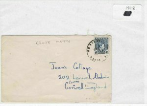 Nigeria 1948 stamps cover Ref 8711