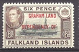 Falkland Islands Graham Land 2L6 (M)