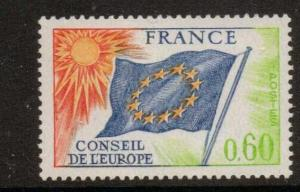 FRANCE SGC16 1963 COUNCIL OF EUROPE 60c  MNH